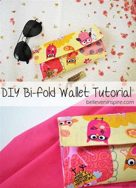 Handmade Wallet Tutorial - handmade wallet tutorial free sewing tutorial sew some
