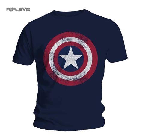T Shirttshirttshirtkaos Captain America official t shirt captain america distressed shield all sizes ebay