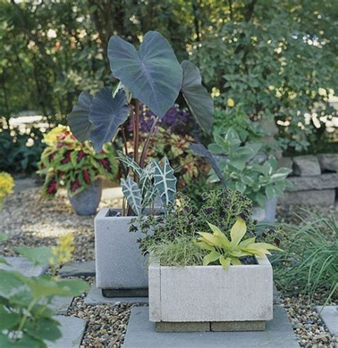 Concrete Planters Diy by Refresh The Outdoor Areas With Smart Diy Projects On A Budget