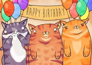 Find S Birthdays Birthday Cats Ulliman S