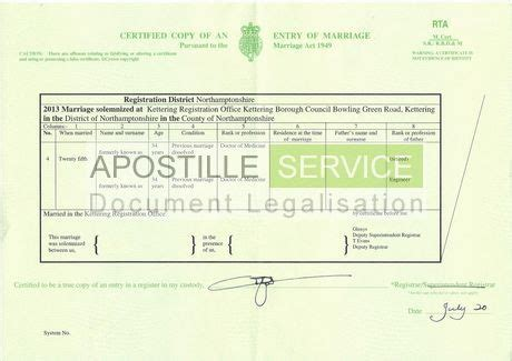 Marriage Records Uk Apostille For Marriage Certificate Apostille Service