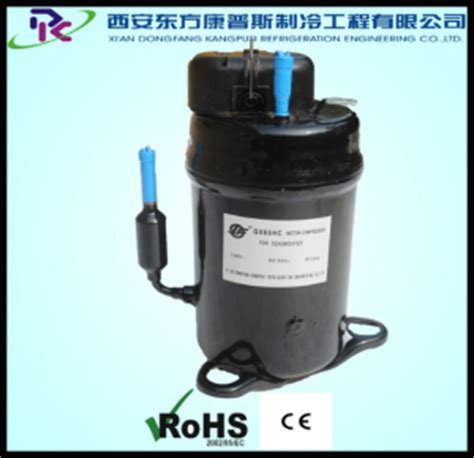 100v 50hz 60hz vertical hermetic rotary r134a ac fixed frequency small refrigeration compressor