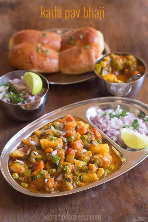 pav bhaji recipes kada pav bhaji recipe mumbai khada pav bhaji how to