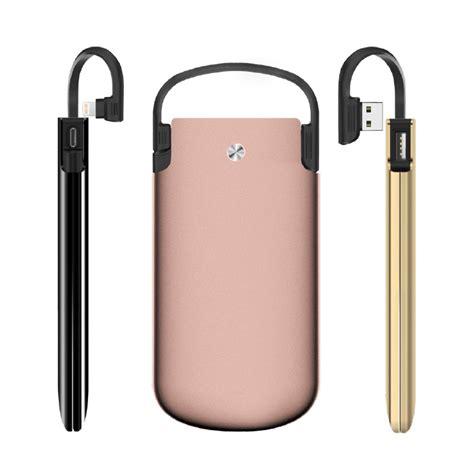 Power Bank Zikko zikko powerbag 6000 mah iphone powerbank mfi lightning cable gold