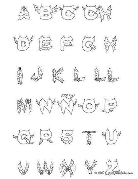 halloween coloring pages letters bat coloring pages hellokids com