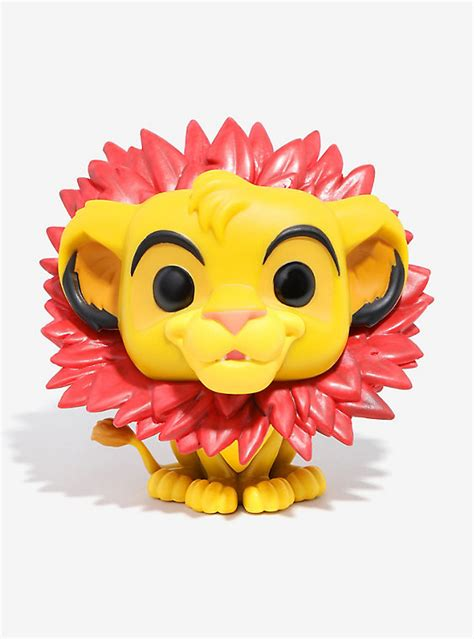 Funko Pop Disney Flower funko pop disney the king simba vinyl figure boxlunch