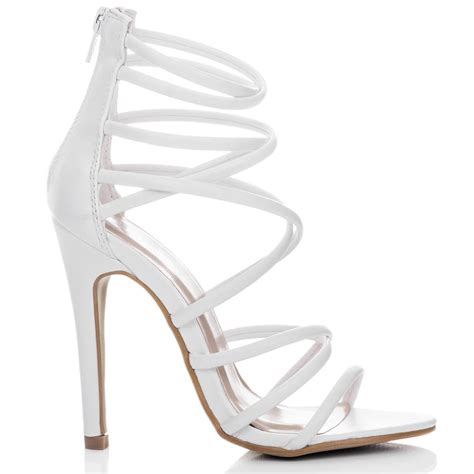 all high heel shoes uzi white sandals shoes from spylovebuy