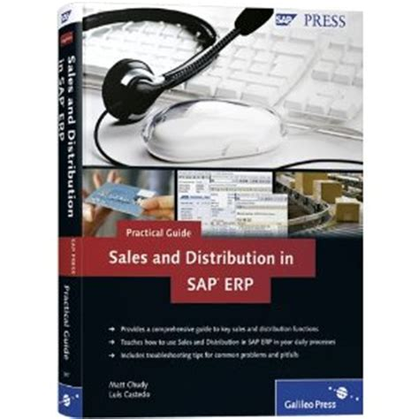 sales and distribution sap sd in sap erp business user guide 3rd edition sap press books sales and distribution in sap erp practical guide sap