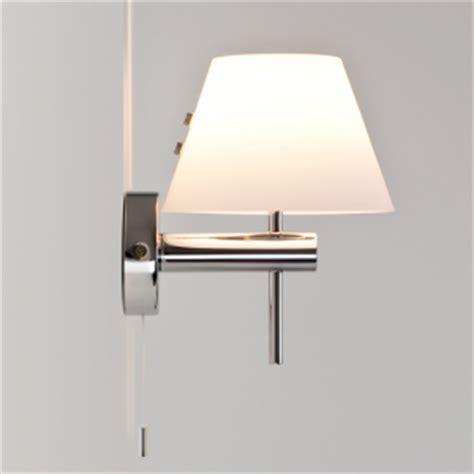applique per il bagno roma applique bagno con tirantino e diffusore in vetro
