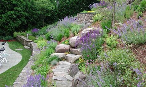 landscaping a hilly backyard gardening landscaping landscaping ideas for hills