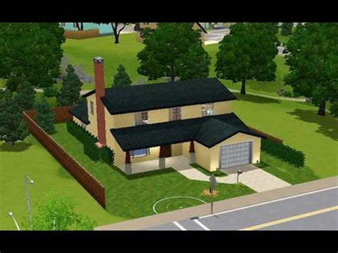 layout of the hill house king of the hill building the american dad house in the sims 3 youtube