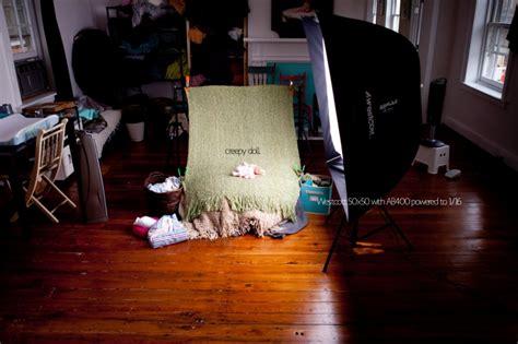 newborn photography lighting setup newborn photography