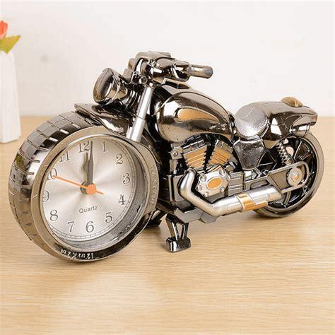 cool desk clocks cool motorcycle motorbike design alarm clock desk clock
