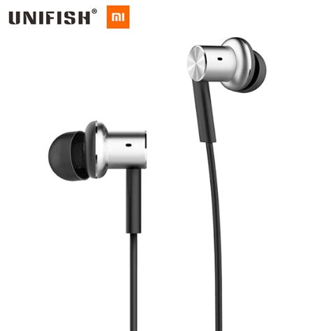 Xiaomi Mi Iv Hybrid Dual Drivers Earphones Headset In Ear Mi Piston aliexpress buy original 2016 xiaomi mi hybrid dual