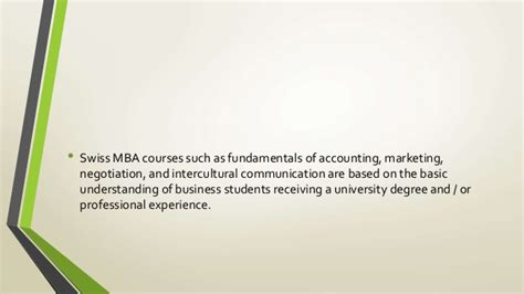 Detailed Information About Mba by General Information About The Mba Program