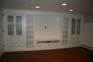 Basement Wall Cabinets Built In Entertainment Wall Units Joy Studio Design