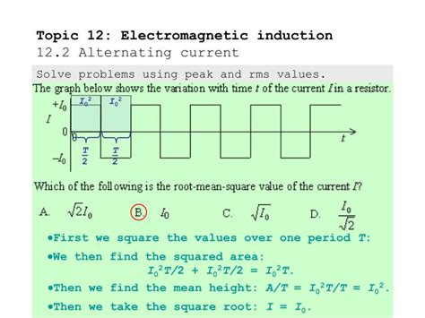 electromagnetic induction xii ppt topic 12 electromagnetic induction 12 2 alternating current powerpoint presentation id