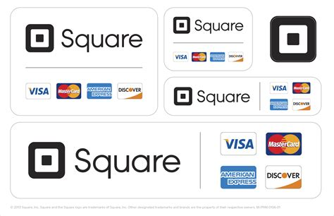 Square Credit Card Template by Square Stickers And Table Tents Square Support Center Us