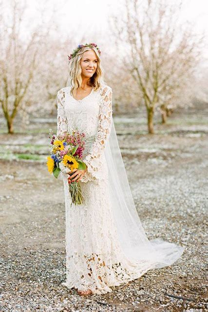Fall Wedding Dresses by Fabulous Fall Wedding Dress Ideas Sleeves And Lace