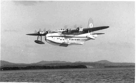 qantas flying boat photos history flying boats at redland bay redland city bulletin