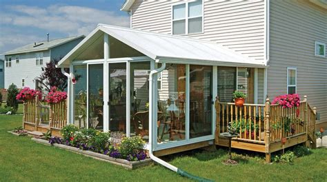 Diy Sunroom by Sunroom Kit Easyroom Diy Sunrooms Patio Enclosures