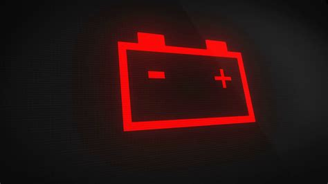 battery light car low car battery light blinking on and motion