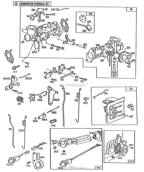 briggs and stratton carburetor diagram diagram of briggs and stratton 5 hp carb pictures to pin
