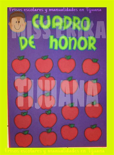 cuadro de honor cuadro de honor carteles para decorar las aulas pinterest
