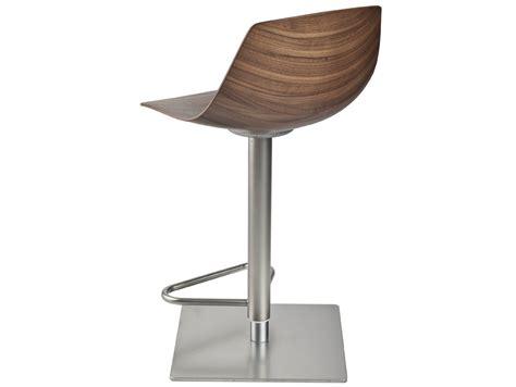 chaise de bar reglable miunn chaise de bar by lapalma design karri monni