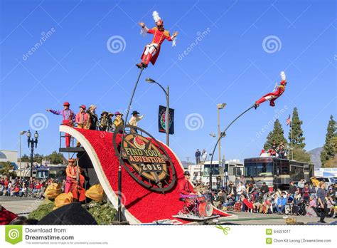 new year parade california parade at pasadena california usa january 1 2016