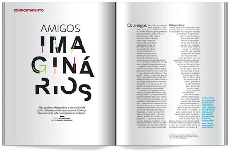great knockout in the body of the text in this magazine spread very creative idea design