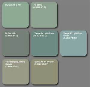 green blue paint colors aviation of japan 日本の航空史 paint matters mr color ki 27 mix