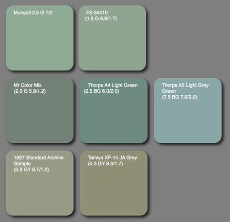 paint colors grey green aviation of japan 日本の航空史 july 2010