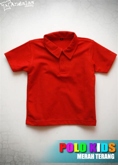 Polo Shirt Polos Kaos Polos Pique Cotton Pique kaos polo shirt anak bahan cotton pique grosir kaos