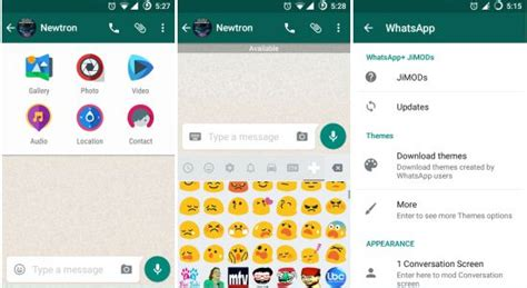 download themes for whatsapp jimods whatsapp jimods v3 90 gbwhatsapp latest apps and