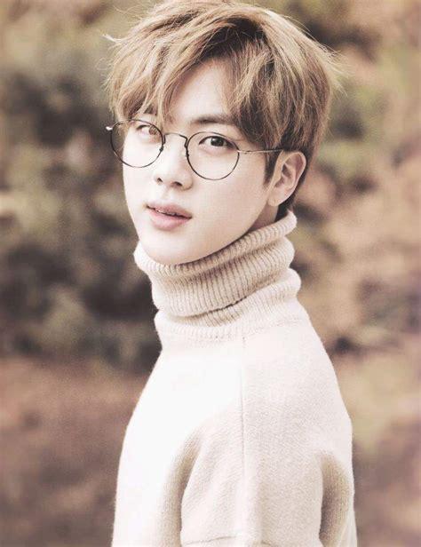 Sweater Pria Hr 077 seokjin autumn army s amino