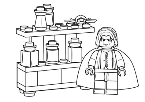coloring pages harry potter lego lego severus snape coloring page free printable coloring