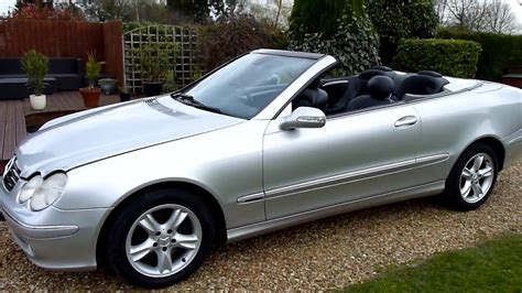 convertible mercedes 2004 video review of 2004 mercedes clk 200 convertible for sale
