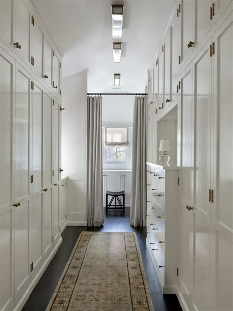 Narrow Walk In Closet Design by Narrow Walk In Closet Design Ideas
