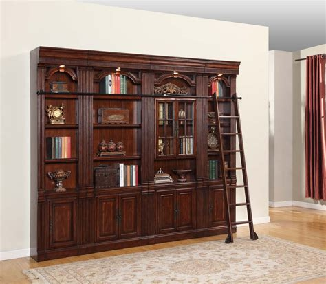 Library Bookcase Wall Unit house wellington library bookcase wall unit 3 wel lib set 3 homelement