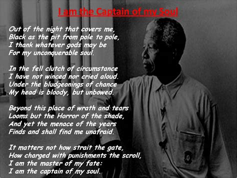 master of my fate captain of my soul tattoo my coolest quotes i am the captain of my soul nelson