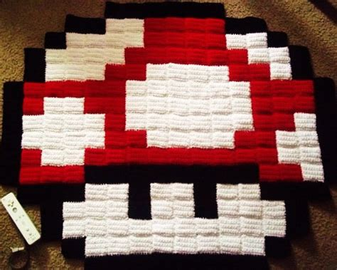 8 bit rug 8 bit mario pixel rug