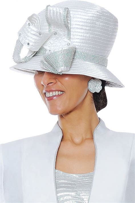 hats white g4703h not just church suits