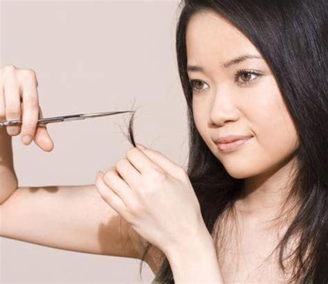 Haar Knippen by Haar Zelf Knippen Trend Zelf Je Haar Knippen