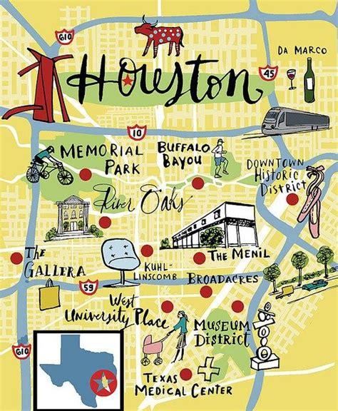houston map attractions 25 best ideas about houston on houston best