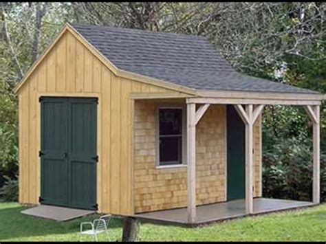 Shed Roof Types by How To Choose Storage Shed Style