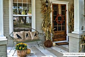 homes decorated for fall antique homes and lifestyle fall porch decorating ideas