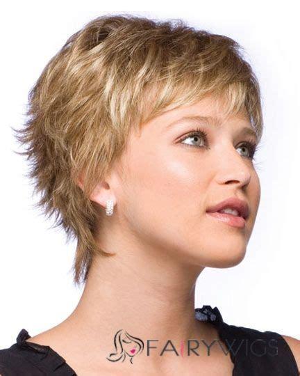 100 human hair blonde short wigs 8 inch capless curly