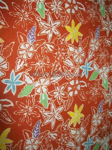 Kemeja Wanita Motif Bunga 287 jual aneka macam jenis kain batik cap handmade asli