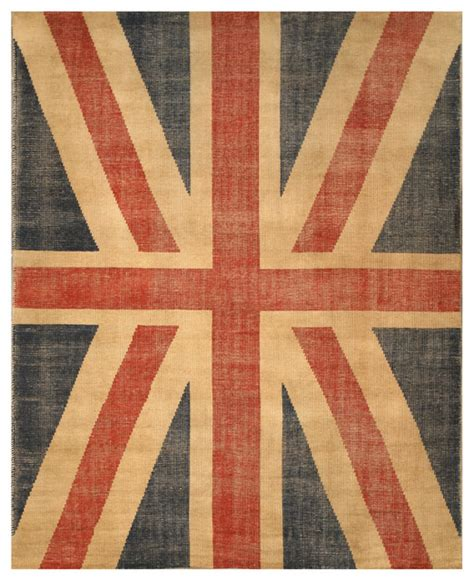 flag area rug eorc knotted wool union flag rug reviews houzz